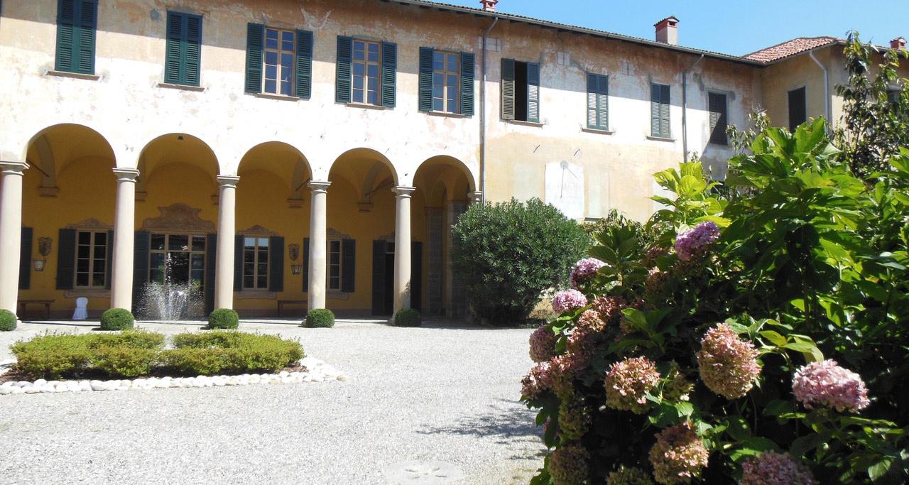 villa semenza porticato loggia